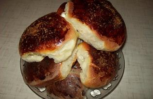 Пирожки с творогом и изюмом (пошаговый фото рецепт)