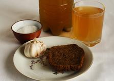 Домашний хлебный квас (пошаговый фото рецепт)