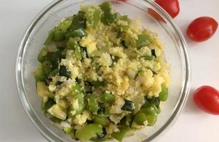 Кускус с овощами (пошаговый фото рецепт)