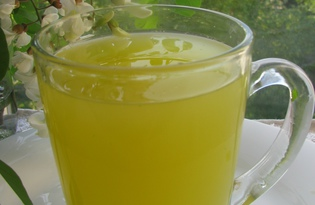 Освежающий напиток «Летняя свежесть» (пошаговый фото рецепт)