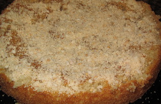 Восточный пирог из манки и кефира (пошаговый фото рецепт)