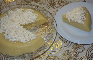 Мамалыга кукурузная с брынзой (пошаговый фото рецепт)