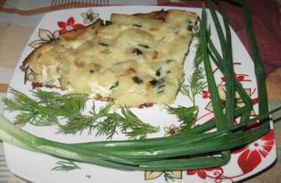 Жареный картофель в омлете с зеленью (пошаговый фото рецепт)