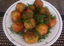 Молодой картофель жаренный в мультиварке (пошаговый фото рецепт)