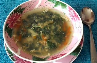 Похлёбка из крапивы с овощами (пошаговый фото рецепт)