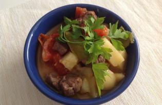Тушеная картошка в скороварке (пошаговый фото рецепт)