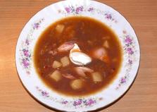 Фасолевый суп с курицей (пошаговый фото рецепт)