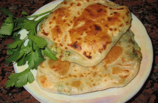 Плацинды - молдавские лепешки (пошаговый фото рецепт)