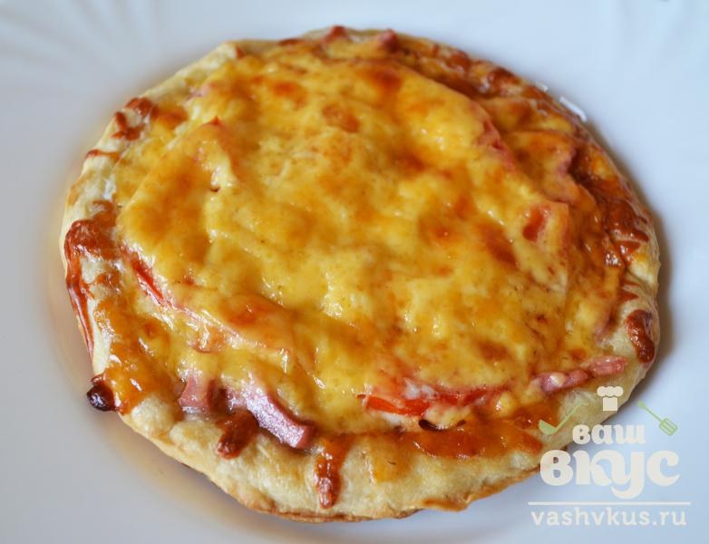 Фото рецепт пиццы из слоеного дрожжевого теста