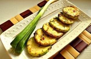Кабачки, жаренные с зеленью (пошаговый фото рецепт)