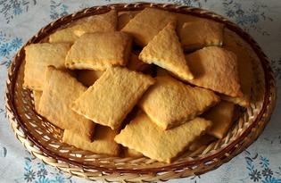 Печенье сметанное без масла (пошаговый фото рецепт)