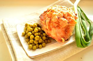 Куриное бедро в сметане и сыре (пошаговый фото рецепт)