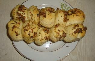 Пампушки к украинскому борщу (пошаговый фото рецепт)