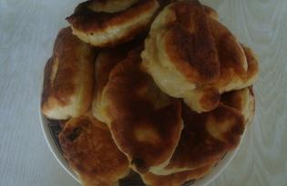 Дрожжевое тесто на кефире для жареных пирожков (пошаговый фото рецепт)