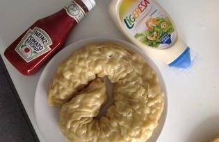 Домашний рулет с картофелем на пару (пошаговый фото рецепт)