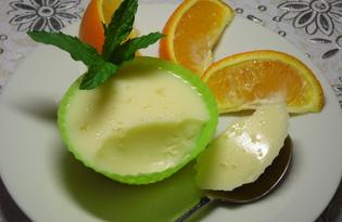 Летний апельсиновый десерт (пошаговый фото рецепт)