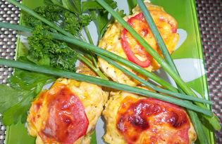 Куриные рубленные котлеты с сыром (пошаговый фото рецепт)