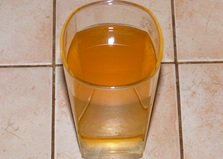 Холодный зелёный чай с имбирём и цитрусовыми (пошаговый фото рецепт)