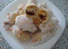 Рогалики с джемом (пошаговый фото рецепт)
