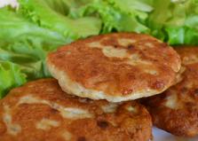 Куриная котлета для гамбургера (пошаговый фото рецепт)
