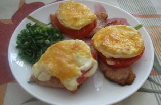 Свинина с помидором и луком (пошаговый фото рецепт)