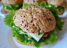 Домашний гамбургер (пошаговый фото рецепт)