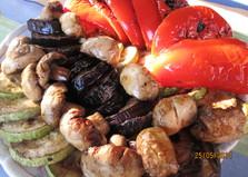 Овощи в маринаде на гриле (пошаговый фото рецепт)