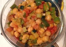 Нут с овощами (пошаговый фото рецепт)