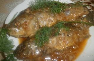 Караси в томатном соусе (пошаговый фото рецепт)