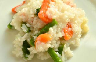 Рис с замороженными овощами (пошаговый фото рецепт)