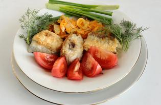 Жареный минтай с маринадом (пошаговый фото рецепт)