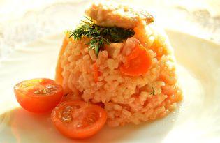Рис с маринованной курочкой (пошаговый фото рецепт)