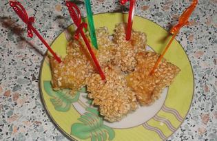 Закуска из кабачков (пошаговый фото рецепт)