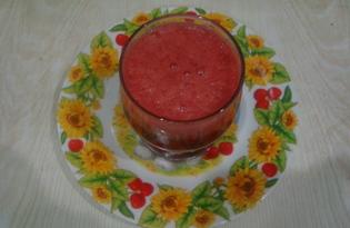 Морс из клубники (пошаговый фото рецепт)
