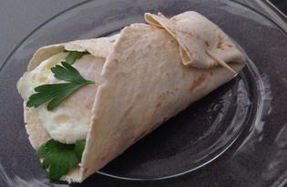 """Мексиканский завтрак """"Буритос"""" (пошаговый фото рецепт)"""