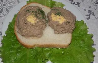Печеночный паштет с маслом и укропом (пошаговый фото рецепт)