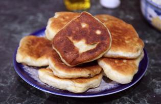 Хачапури с творожной начинкой (пошаговый фото рецепт)