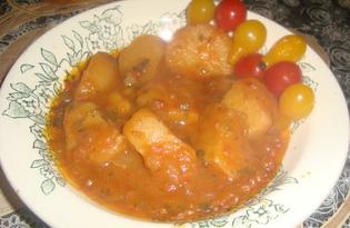 Картофель в казане (пошаговый фото рецепт)