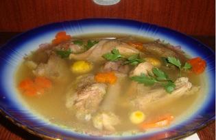 Холодец куриный с желатином (пошаговый фото рецепт)