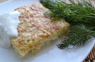 Запеканка с кабачками и капустой (пошаговый фото рецепт)