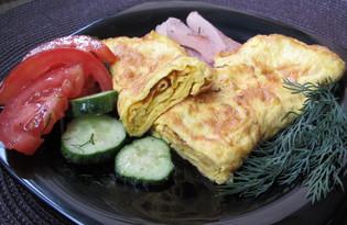 Омлет по-японски (пошаговый фото рецепт)