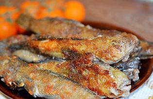 Бычки жареные (пошаговый фото рецепт)