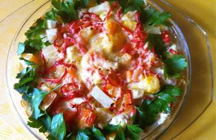 Индейка с ананасами (пошаговый фото рецепт)