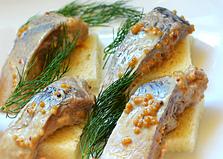 Сельдь маринованная в горчице (пошаговый фото рецепт)