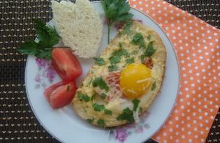 Гренки с яйцом и сыром (пошаговый фото рецепт)
