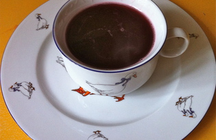 Вишневый кисель (пошаговый фото рецепт)