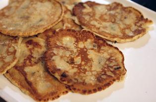 Оладьи с шампиньонами (пошаговый фото рецепт)