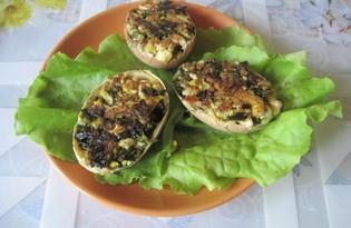 Яйца фаршированные зелёным луком (пошаговый фото рецепт)