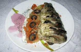 Карп с овощами и маслинами (пошаговый фото рецепт)