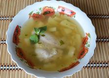 Гороховый суп с курицей в мультиварке (пошаговый фото рецепт)